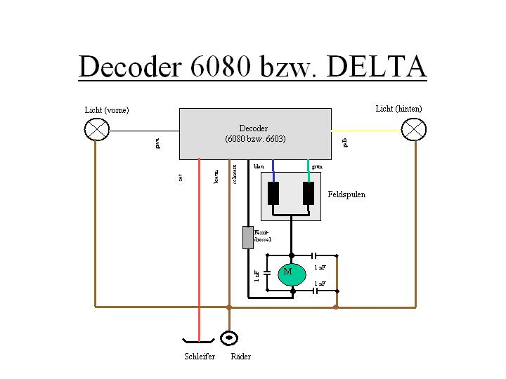 Wiring Diagram for 83434 Delta LocomotiveMarklin-Users.Net